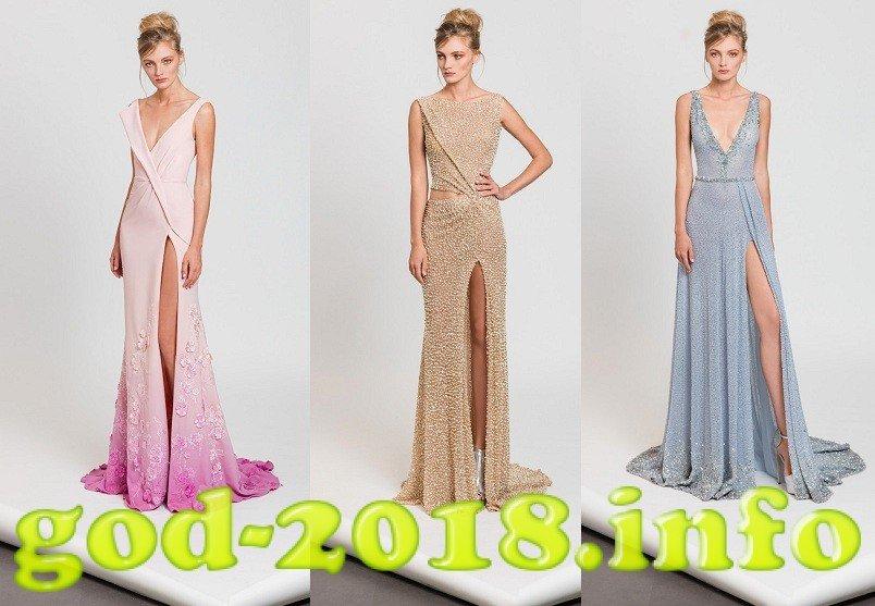 Модні вечірні сукні осінь-зима 2017-2018 новинки фото  0fcabbd6f6a1b