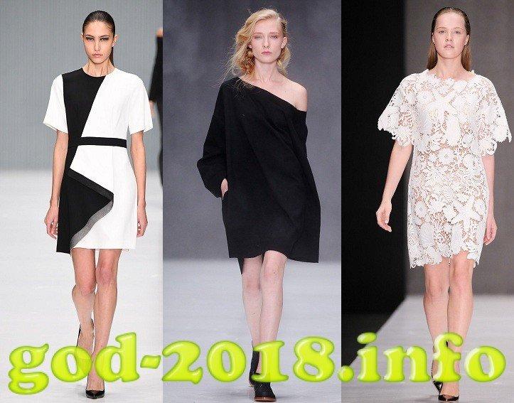 Модні повсякденні сукні осінь-зима 2017-2018 фото новинки  03abbf48c95be