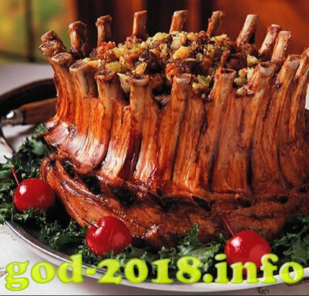 Фото блюда из ребрышек