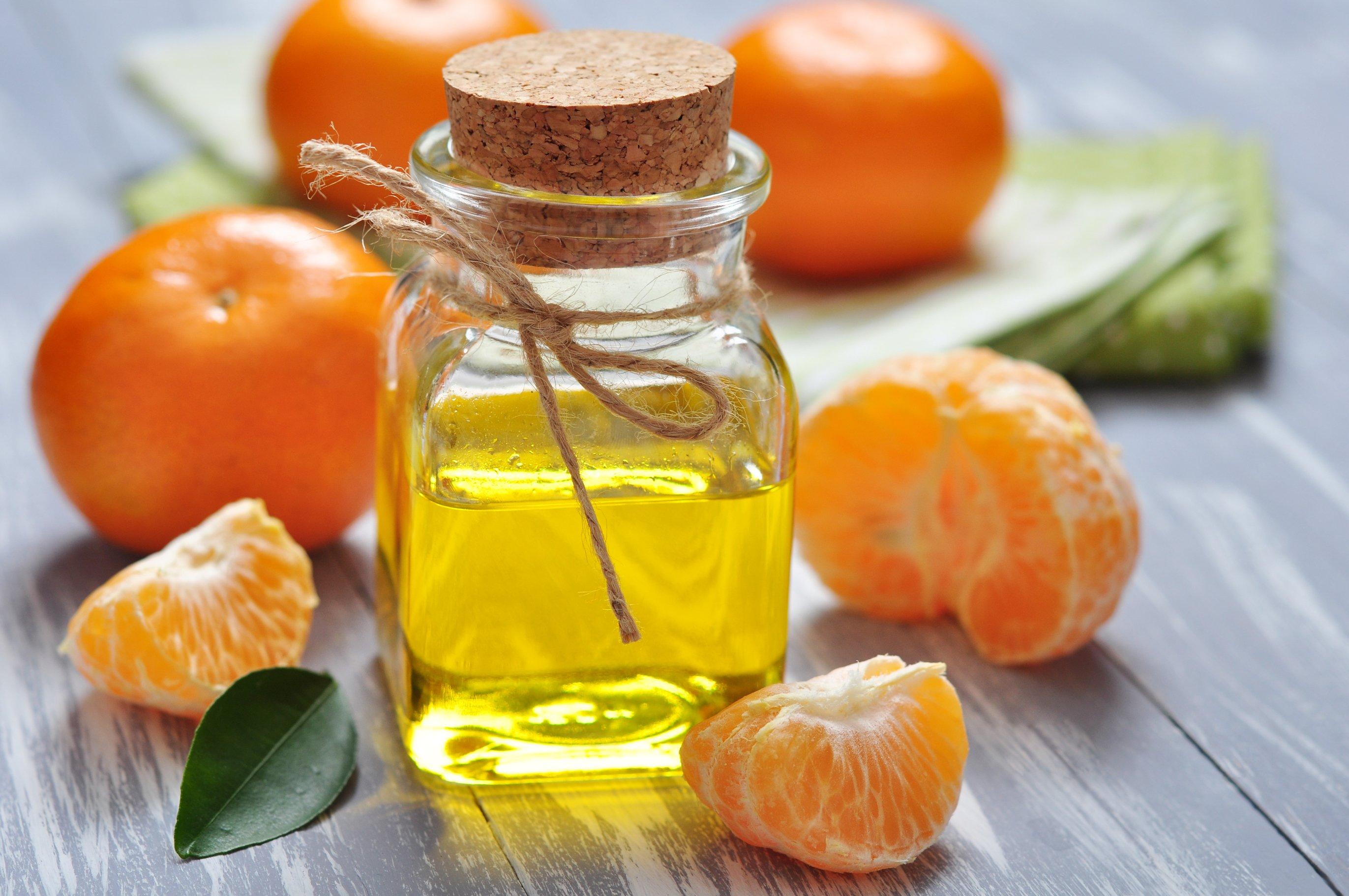 Эфирное масло лимона своими руками