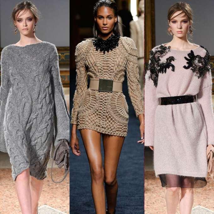 Модні сукні осінь-зима 2017 – 2018. Тенденції 2e95af6832e43