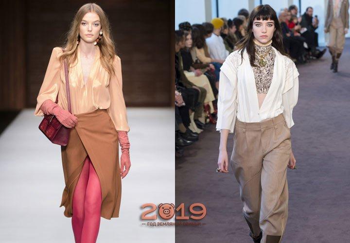 ... фото Модні блузки осінь зима 2018 2019  трендові моделі 3406d6da70296