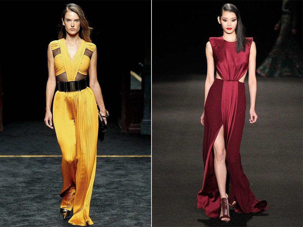 1d466c85e9b121 Вечірні сукні в 2018 році. Модні тенденції, тренди | Новий Рік